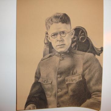 Soldier Portrait (charcoal)