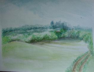 Vienna Woods (watercolor)