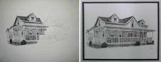House Portrait (charcoal)