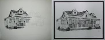 House Portrait (charcoal)