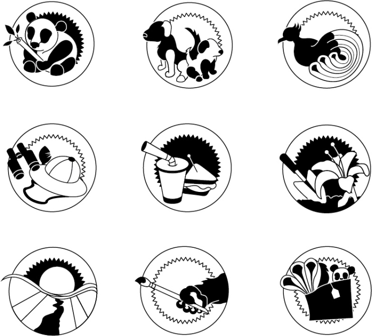 Zoo Icons (class project)
