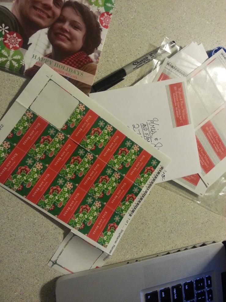 Sending cards