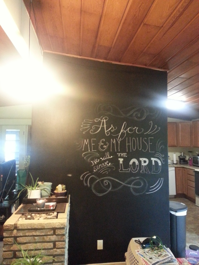 Chalk Board Wall